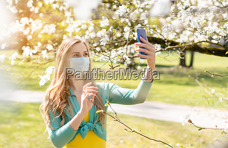 woman taking a selfie with her
