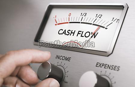 operatives cashflow management verwalten sie geschaeftsliquiditaeten