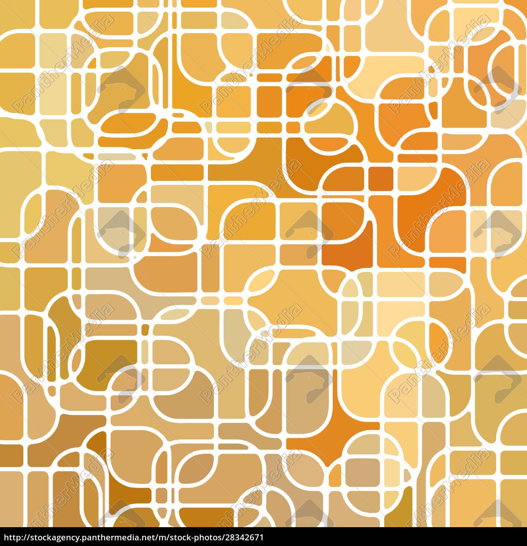 abstrakter, mosaikhintergrund, aus, buntglas - 28342671