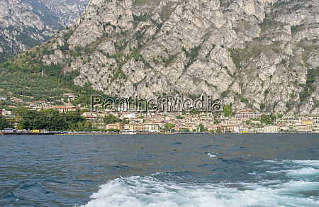 city limone and lake garda