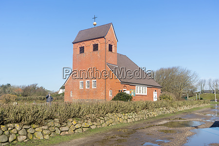 friesian chapel in wenningstedt