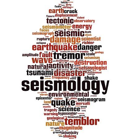 seismologische wortwolke