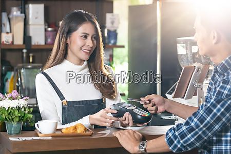 cafe bargeldloses bezahlen