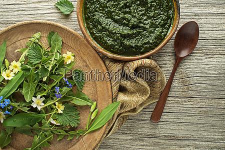 gesunde gruene suppe