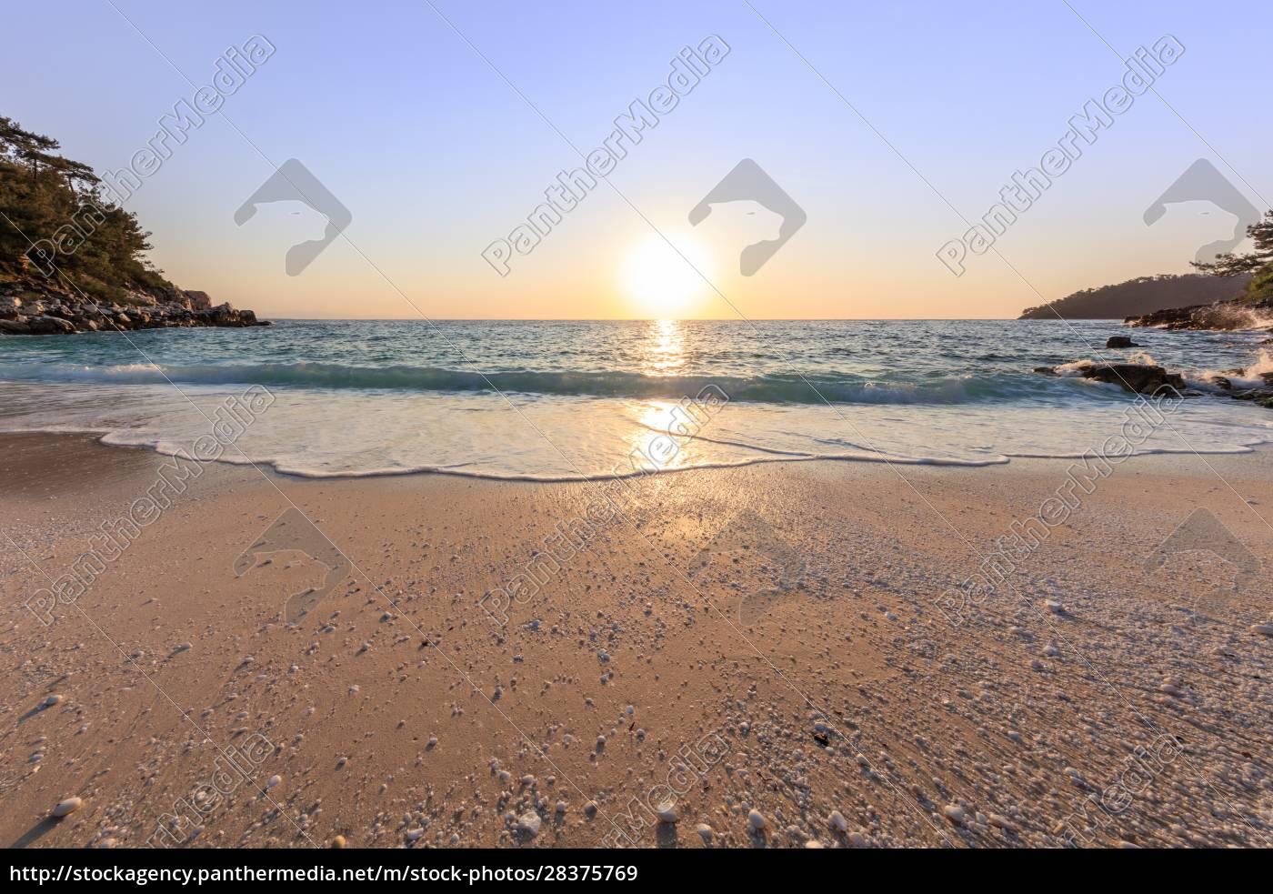 marmorstrand, (saliara, beach), thassos, inseln, griechenland - 28375769