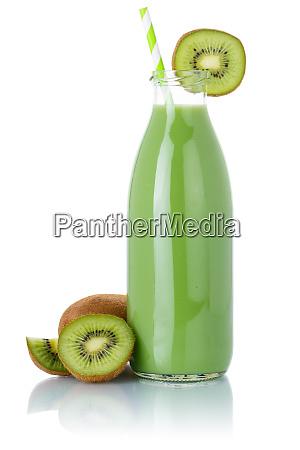 kiwi gruen smoothie fruchtsaft trinken stroh