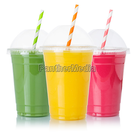 collection of fruit smoothies fruits orange