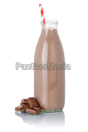 fresh chocolate milk shake milkshake straw