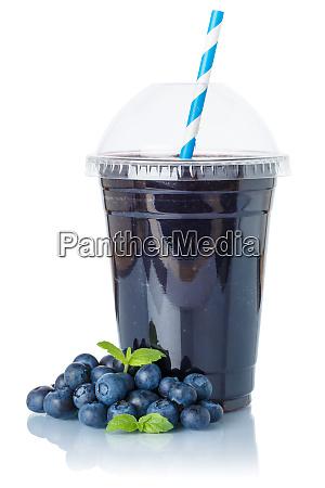heidelbeer smoothie fruchtsaft trinken heidelbeeren in