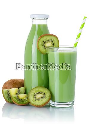 kiwi gruen smoothie fruchtsaft trinken kiwis