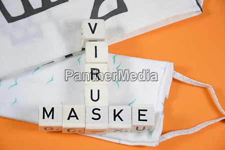 maske deutsch wort fuer maske