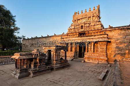 eingang, gopura, (turm), des, airavatesvara, tempels, darasuram - 28388105