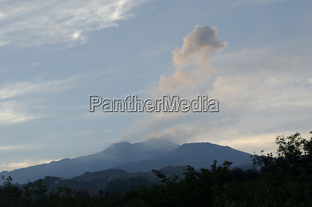mount etna landscape sicily italy