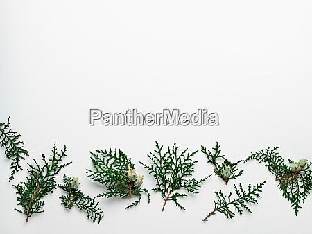 minimales weihnachtsmuster mit kopierraum