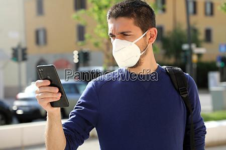 covid 19 pandemic coronavirus young man