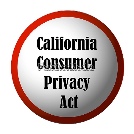 california consumer privacy act ccpa anfrage
