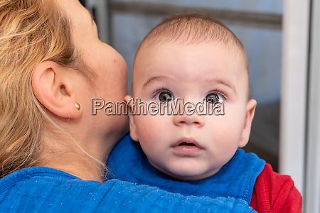 cute, 6, months, little, baby, boy - 28448835