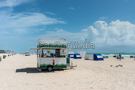 south beach in miami florida vereinigte