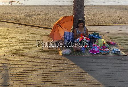 pattaya, thailand, -, april, 10, 2019:der, strand, - 28461012