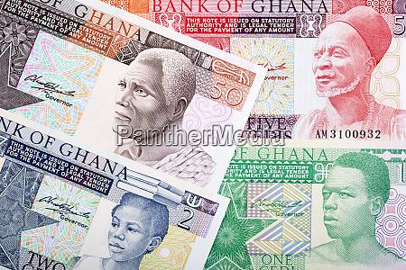 altes geld aus ghana ein