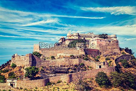 kumbhalgarh fort indien