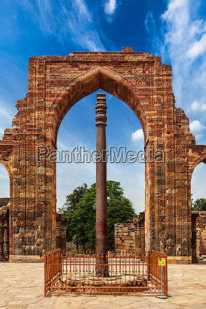 iron, pillar, in, qutub, complex - 28470072