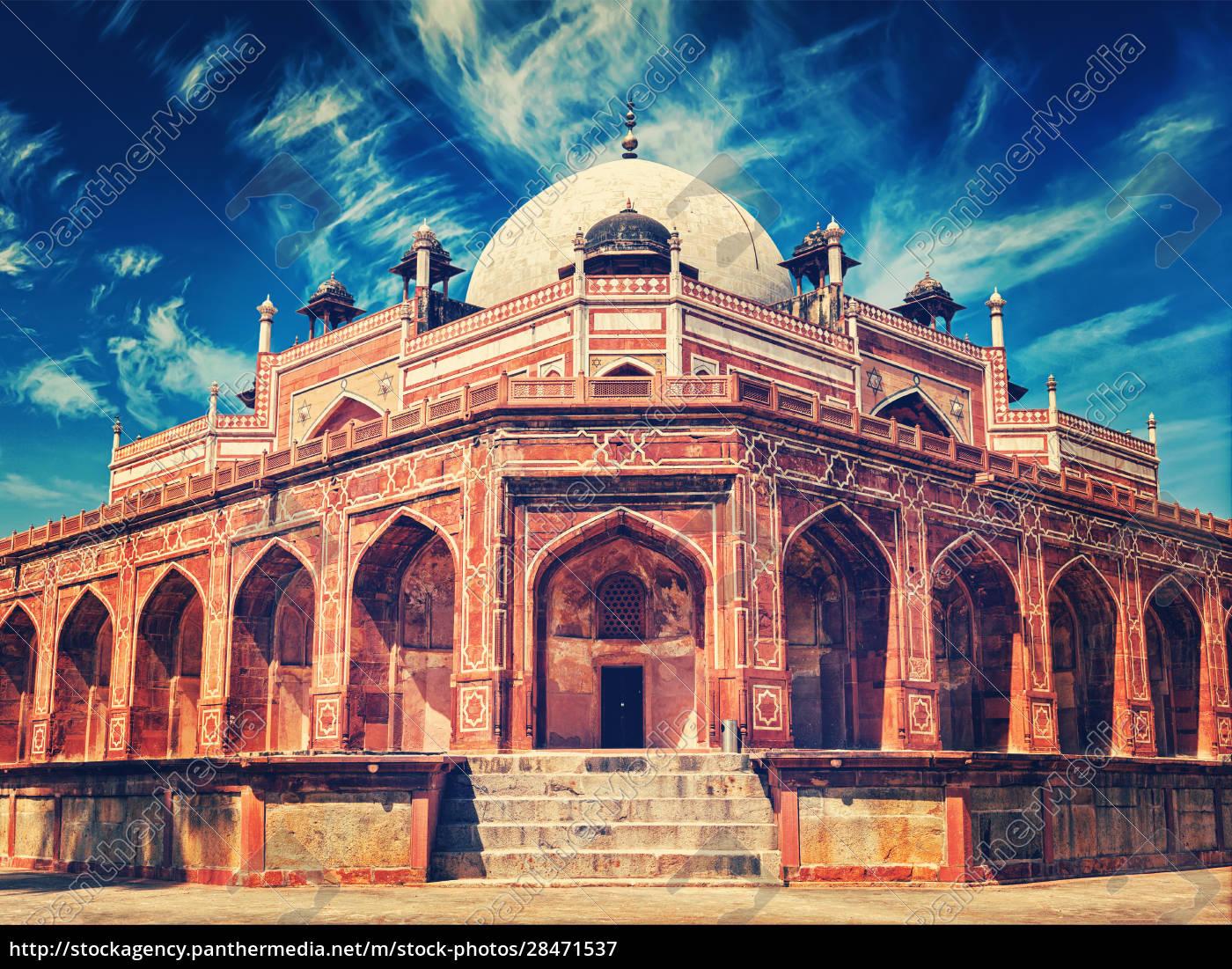 humayuns, grab., delhi, indien - 28471537