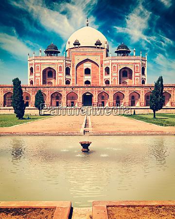 humayuns, grab., delhi, indien - 28471599