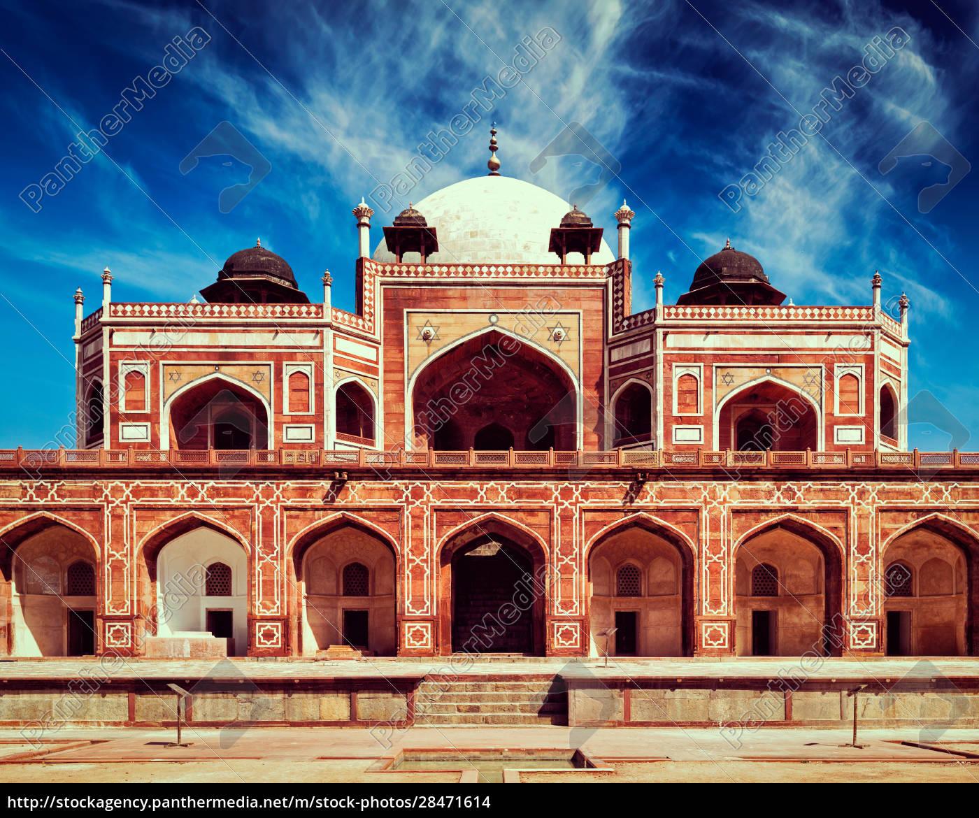 humayuns, grab., delhi, indien - 28471614