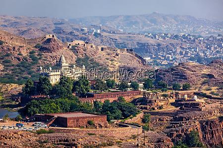 jaswanth thada mausoleum rajasthan indien