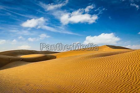 dünen, der, thar-wüste, rajasthan, indien - 28473860