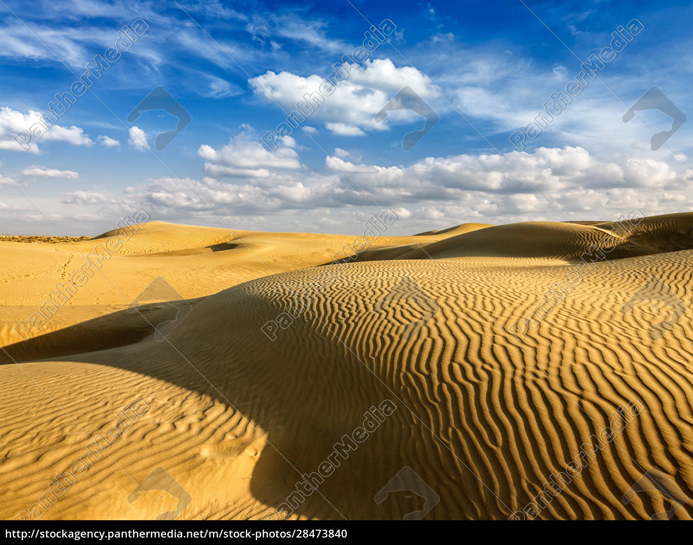 sanddünen, in, der, wüste - 28473840