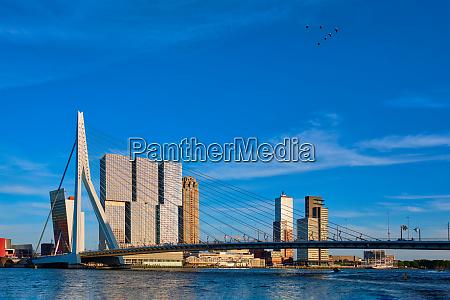 rotterdam cityscape niederlande