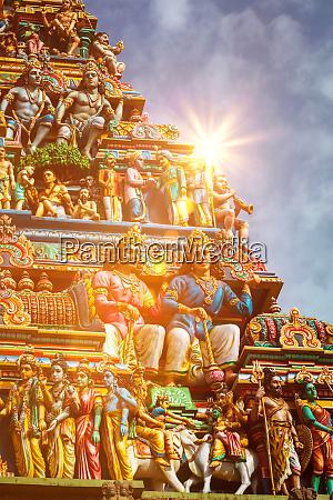 gopuram, turm, des, hindu-tempels - 28479136