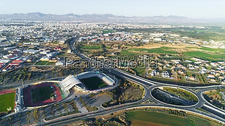 aps stadion aus der luft nikosia