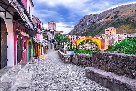 mostar bosnien und herzegovina stari most