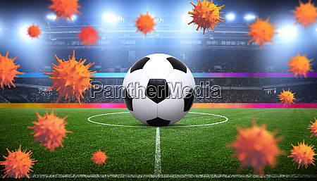 soccer events through the corona virus