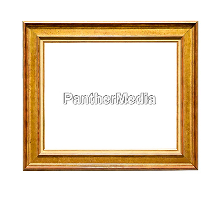 wooden decorative picture frame with golden