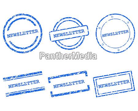 newsletter briefmarken