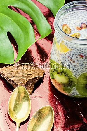 healthy chia pudding