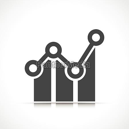 vector illustration of data symbol icon