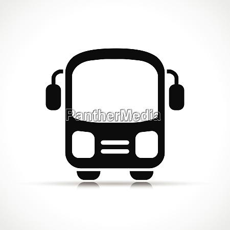 vektor illustration des bussymbols