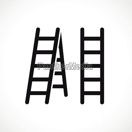 vector ladder symbol icon design