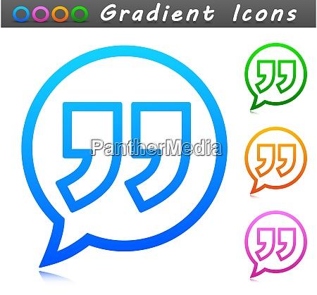 vektor zitat symbol symbol design