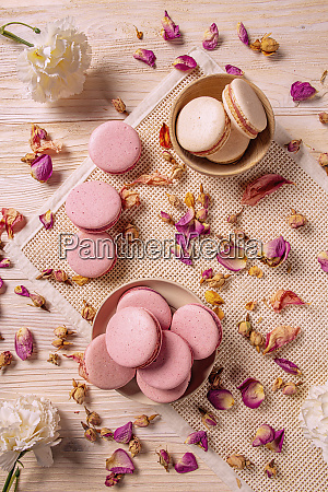 franzoesisches macarons konzept