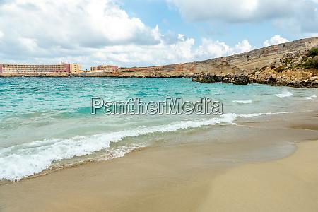 malta paradise bay auf der halbinsel