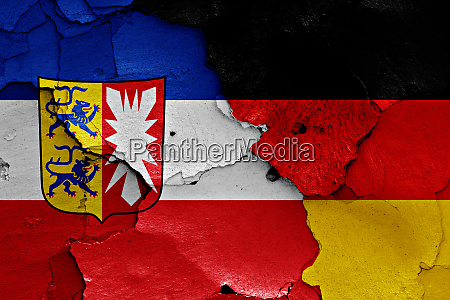 flags, of, schleswig, holstein, and, germany - 28543682
