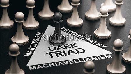 dunkle triade asoziale persoenlichkeitsstoerung psychologie konzept