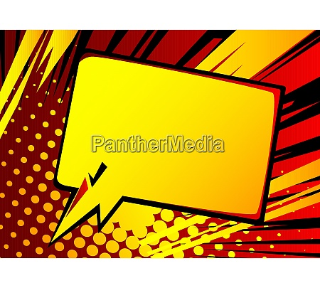 cartoon design colored background with speech