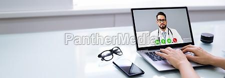 online videokonferenz mit arzt